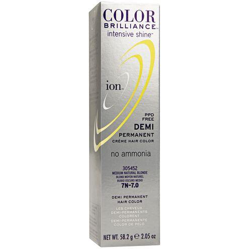 Intensive Shine 7N Medium Natural Blonde Demi Permanent Creme Hair Color