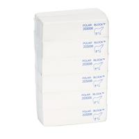 Soft White/Polar Block Four Sided Buffer