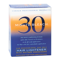 30 Minute Bleach Hair Lightener