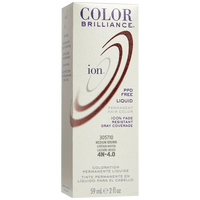 4N Medium Brown Permanent Liquid Hair Color