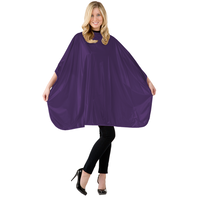 Solid Purple Shampoo Cape