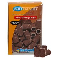 Pro Red Sanding Bands