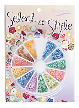 Select A Style Flowers Nail Art Wheel