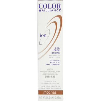5WR Light Gold Mahogany Brown Permanent Creme Hair Color