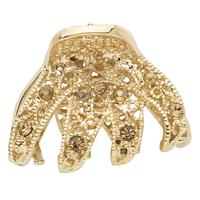 Gold Mini Claw Clip