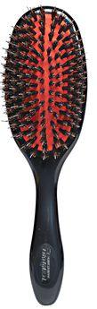 Medium Natural Bristle & Nylon Pin Grooming Brush