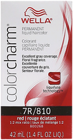 Liquid Permanent Hair Color 7R/810 Red-Red