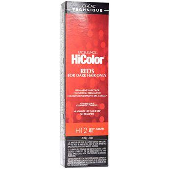 HiColor Deep Auburn Red Permanent Creme Hair Color