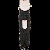 Afro Kinky Dark Brown 20 Inch Braiding Hair