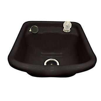 Gypsy II Acrylic Shampoo Bowl - Black