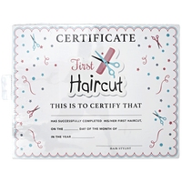 My First Haircut Certificate