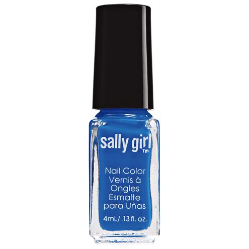 Blazing Blue Neon Nail Enamel