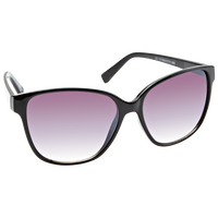 Black Opaque Fashion Sunglasses