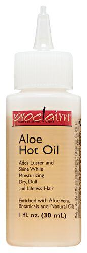 Aloe Hot Oil