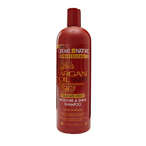 creme of nature with argan oil sulfate free moisture
