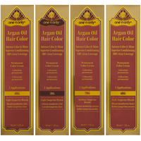 Argan Oil Permanent Color Hair Cream Tangerine Series