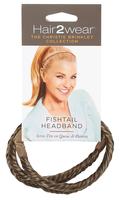Dark Blonde Fishtail Headband