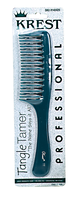 Teal Tangle Tamer Curved Tooth Detangler