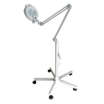 Magnifying Lamp with Caster Base