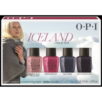 Iceland Nail Lacquer Collection Mini 4 Pack