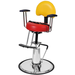 Topolino Hydraulic Kids Styling Chair - Multi Color