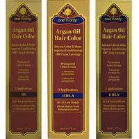 Argan Oil Permanent Color Hair Cream Hi-Lift Blonde Series