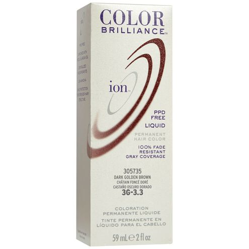 3G Dark Golden Brown Permanent Liquid Hair Color