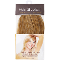 Dark Blonde Full Sweeping Side Fringe