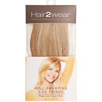 Light Blonde Full Sweeping Side Fringe