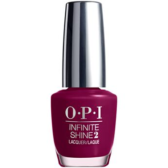 Infinite Shine Berry On Forever Nail Lacquer