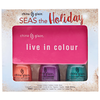 Holiday Seas and Greeting Nail Polish Combo