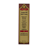 5RG Light Tangerine Brown Demi Permanent Hair Color Glossing Cream