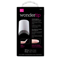 Wonder Tips Long White Nail Extensions