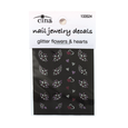 Art Glitter Nail Decals