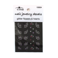 Art Glitter Nail Decals