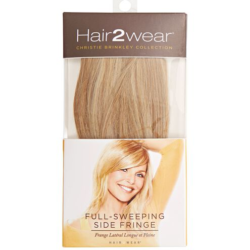 Light Blonde Full Sweeping Side Fringe