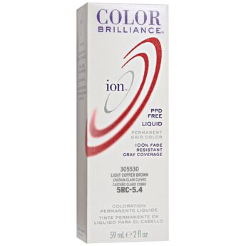 5RC Light Copper Brown Permanent Liquid Hair Color