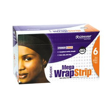 Mega Wrap Strip Refills Black