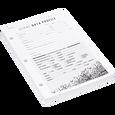 Data Organizer Cards