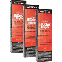 HiColor Red HiLights Permanent Creme Hair Color