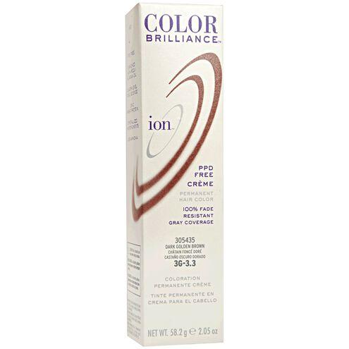 3G Dark Golden Brown Permanent Creme Hair Color