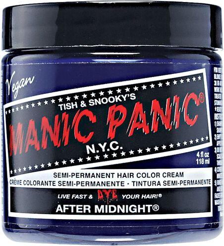 Midnight Blue Semi Permanent Cream Hair Color