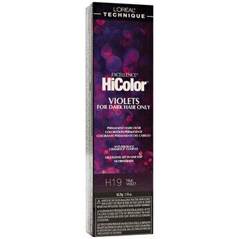 H19 True Violet HiColor Violet & Black Shades