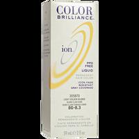 8G Light Golden Blonde Permanent Liquid Hair Color