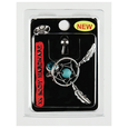 14G Navel Dangle Dream Catcher Aqua