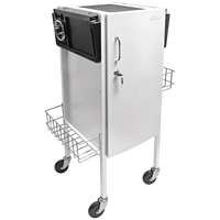 JLS-500 Metal Trolley White