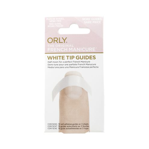 French Manicure White Tip Guides