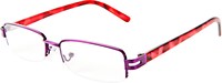 Pink Leopard Reading Glasses