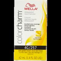 Dark Golden Brown Color Charm Liquid Permanent Hair Color