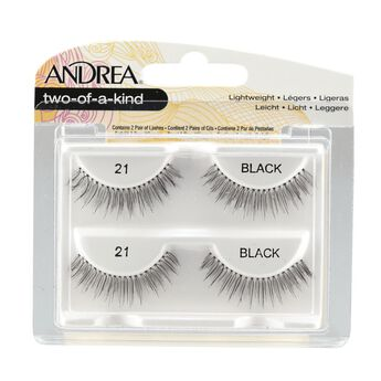 Twin Pack Lashes Black Two of a Kind #21